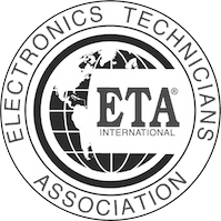 elctronics technicians association logo